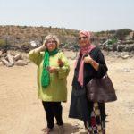 Michèle mit der Hauptverantwortlichen der Stadt Agadir