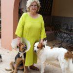Michèle mit Bo und Inka
